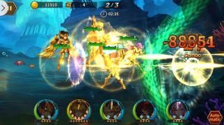 Saint Seiya Galaxy Spirits Game